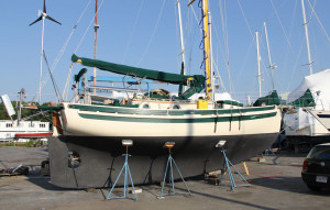 Full keel and long waterline